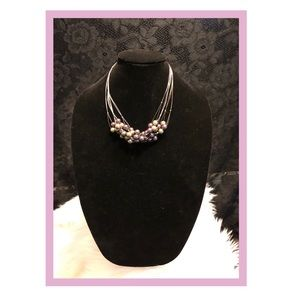 Pearlescent Pearls Necklace TrendyFashion Jewelry
